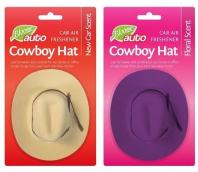 Cowboy hat car air freshener (Code 2044)